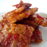 photo of sweet spicy tempe